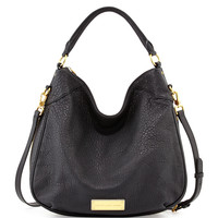 Washed Up Billy Hobo Bag, Black Multi - MARC by Marc Jacobs