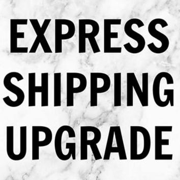 Express Overnight Shipping Upgrade Fee (1-2 Business Days)