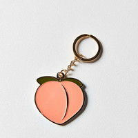 VERAMEAT Peach Keychain | Urban Outfitters