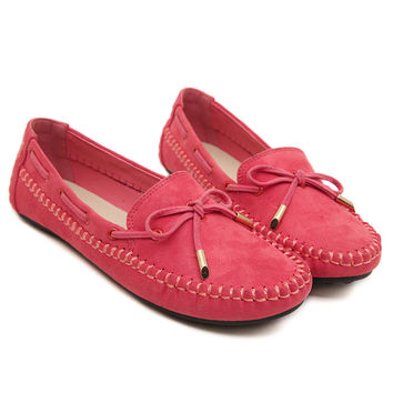 Quality Nubuck Women's Loafers