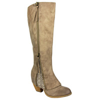 Sassy Classy Boot - Taupe