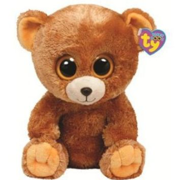 Ty Beanie Boos Honey - Bear, Medium