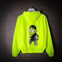 Men Windbreaker Korean Trick Cartoons Couple Jacket [9231074183]
