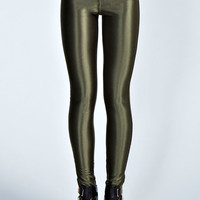 Paris High Rise High Shine Disco Pants