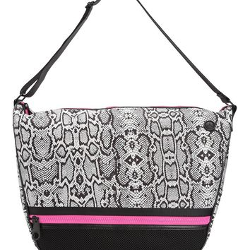 Python Print/Black Juicy Sport Python Nylon Hobo by Juicy Couture, No