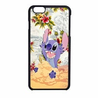 Disney Stitch Floral iPhone 6 Case