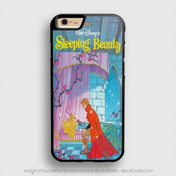 Sleeping Beauty  Vintage Poster iPhone 6 Plus Case iPhone 6S+ Cases