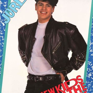 New Kids on the Block Jordan Knight 1989 Poster 22x34
