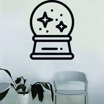 Crystal Ball V2 Decal Sticker Wall Vinyl Art Wall Bedroom Room Home Decor Inspirational Teen Nursery Tattoo