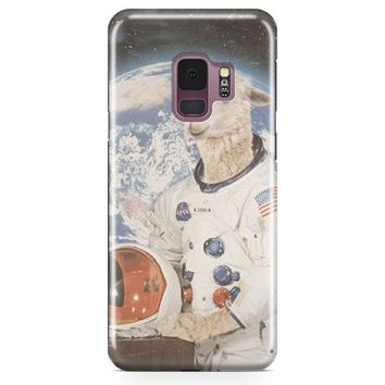 Astronaut Llama Space Samsung Galaxy S9 Plus Case | Casefantasy