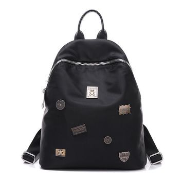 Fashion  Backpack Chic Women's Leisure Double Shoulder Bags
