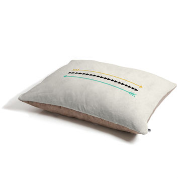 Allyson Johnson Minimal Arrows Pet Bed