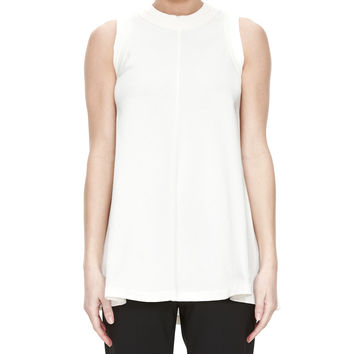 Acne Studios Bye White Sleeveless T-Shirt