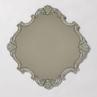 Coat Of Arms Mirror by Anthropologie One Color One Size Wall Decor