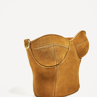 LEATHER CORSET CROSSBODY BAG - NEW IN-WOMAN | ZARA United States