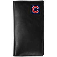 Chicago Cubs Leather Tall Wallet