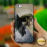 the legend of zelda twilight - Print on Hard Cover for iPhone 5