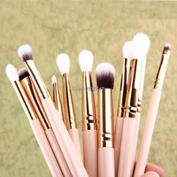 New Hot!! 12 Pcs Blending Pencil Foundation Eye shadow Makeup Brushes Eyeshadow Eyeliner Brush