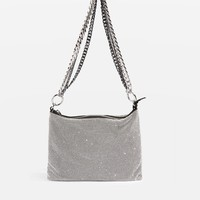 Diamante Chain Shoulder Bag | Topshop