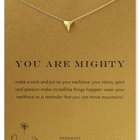 Dogeared You Are Mighty Necklace, 18"