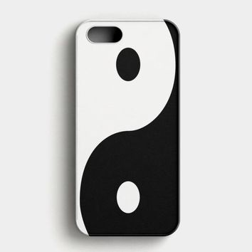 Yin Yang iPhone SE Case