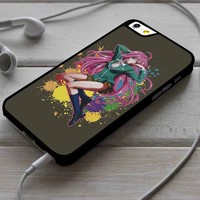 Moka Akashiya Rosario Vampire iPhone 4/4s 5 5s 5c 6 6plus 7 Case
