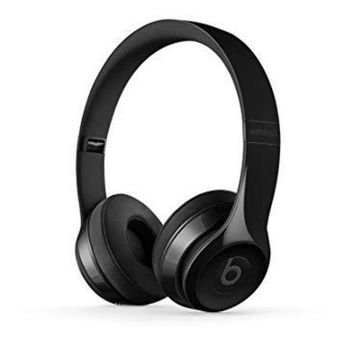PEAP Beats Solo3 Wireless On-Ear Headphones -W1-core chip - Gloss Black