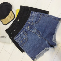 Womens Summmer Denim Jeans Shorts Gift 79