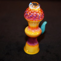 Chillum Glass Pipe Serendipity Honeycomb Tobacco Pipe