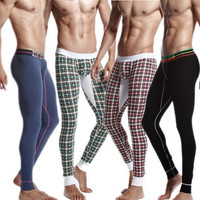 New Fashion Sexy Men Gird Thermal Long Johns Underwear Long Legging Pants High Quality = 1705742212