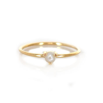 14kt Gold Pearl Point Ring