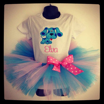 Personalized Blues Clues Tutu Set