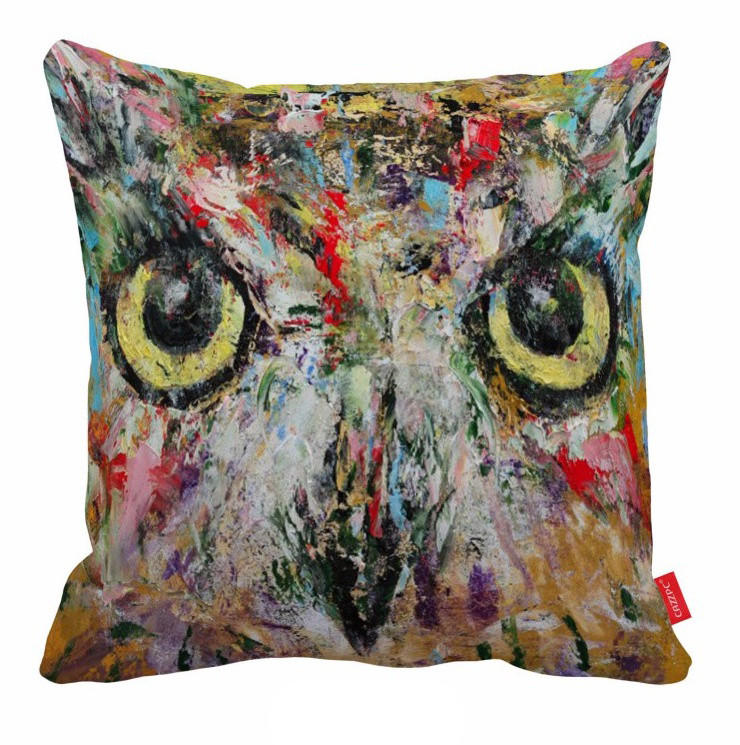 Throw Pillows Affordable : Artistic Pillow Owl Pillow Cheap from Bliss & Home