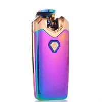 """Thunder"" Electric Lighter Double Arc Plasma Lighter - Galaxy (5 Colors Available)"