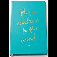 Throw Caution to the Wind 2015 Agenda by Kate Spade New York - FINAL SALE