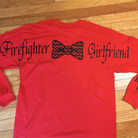 Fire fighter girlfriend! Can also be made for mom, wife, daughter, etc.