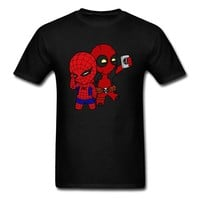 Anime T-Shirt cosplay 90s Cartoon Deadpool T Shirt Men Marvel Men's Funny Cute Graphic Tshirt Bleach Anime Cosplay Tee Shirts For Student Best Gift AT_57_4