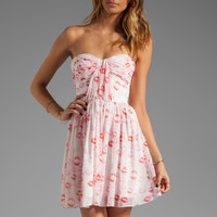 ERIN erin fetherston RUNWAY Marianne Dress in Lipstick from REVOLVEclothing.com