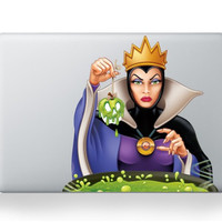 Evil Queen Snow White MacBook Decal