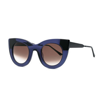 Cheeky Cat-Eye Sunglasses, Purple - Thierry Lasry