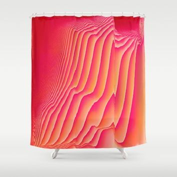 Sorbet Melt Shower Curtain by Ducky B