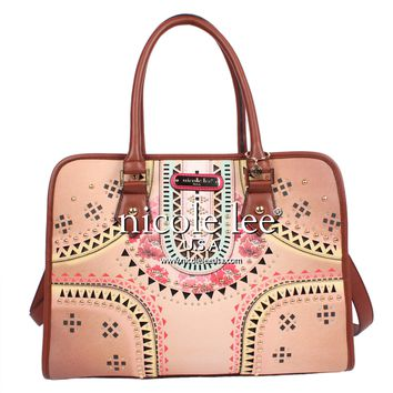 BOHEMIAN LASER PRINT SHOPPER BAG - NEW ARRIVALS