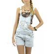 SZ LARGE Renetta Fields Light Denim Overalls