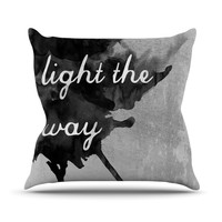 "Skye Zambrana ""Bridges"" Throw Pillow"