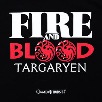 Game of Thrones Targaryen Fire and Blood Ladies' Tank Top