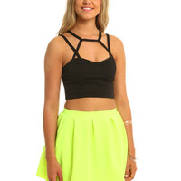 Thriller Crop Top Living Royal small by mariya rakhman