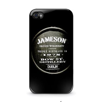 jameson whiskey iphone 4 4s case cover  number 2