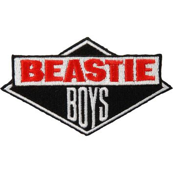 Beastie Boys Men's License To Ill Embroidered Patch Black