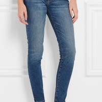 Current/Elliott - The Mamacita mid-rise slim-leg jeans
