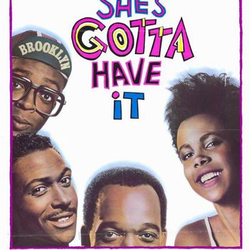 She's Gotta Have It 11x17 Movie Poster (1986)